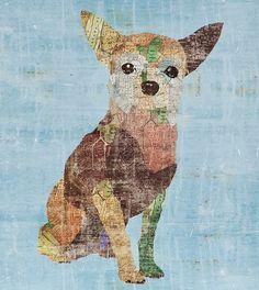sofia fox art | Sofia Fox Dog Art for Z Gallerie | A.G. Out Loud!