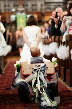 Winter wedding ring bearer ideas alternatives