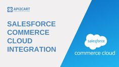 Salesforce Commerce Cloud integration can bring a lot of possibilities for your eCommerce B2B SaaS application. Get more in this video Salesforce Integration, Competitor Analysis, Integrity, Ecommerce, Clouds, Amazing, Inspiration, Biblical Inspiration, Data Integrity