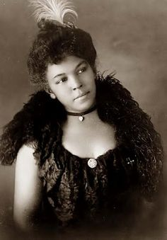 Young African American woman c.1900s