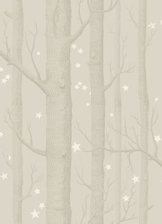Woods and Stars Grey wallpaper by Cole & Son
