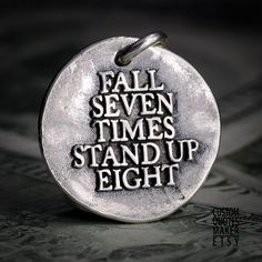 Stand up eight 189 Inspirational Custom by CustomQuotesMaker, $26.00