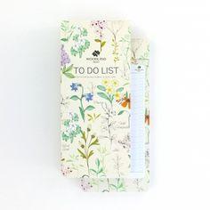 Woodland Trust Botanical To-Do-List - £5.50