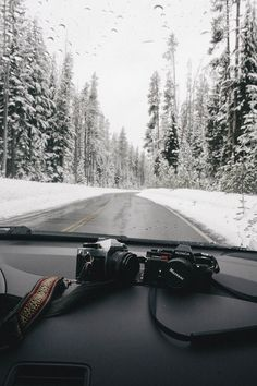 two cameras used to capture the adventure of two friends