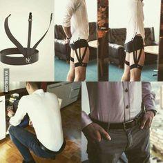 Garter for your shirt tuck