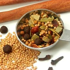 Use for raw brined ham, add star anise Mix up a tasty blend of spices and seasonings to make your own pickling spice mixture. Spice Blends, Spice Mixes, How To Make Pickles, Homemade Pickles, Homemade Seasonings, Seasoning Mixes, Canning Recipes, Pot Roast Recipes, Smoker Recipes