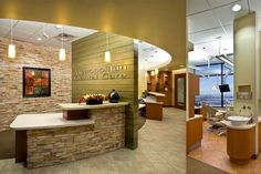 Dental Office Interior Design | Dental Office Architecture and Interior Design - Metropolitan Dental ...