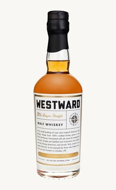 Westward Malt Whiskey—I have some, and it's like liquid gold.