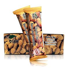 Oskri Almond Snack Bars  53g  20 Pack -- Check out the image by visiting the link.