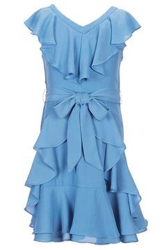 5b7aa9ce6 Rare Editions Big Girls 7-16 Seersucker Striped Bow Dress