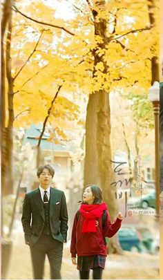Goblin-Gong Yoo x Kim Go-eun_K Drama_id-Subtitle Goblin The Lonely And Great God, Goblin Korean Drama, Goblin Gong Yoo, Yoo Gong, Korean Drama Movies, Korean Dramas, Korean Art, Kdrama Actors, Grim Reaper
