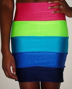 diy skirt! awesome! could make it a maxi if you added more layers...
