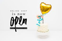 our online shop is now open | time for some Funfetti Cake!