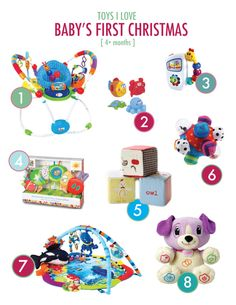 Great gift ideas for a 6 month old baby, 7 month old baby ...