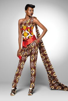 ♥Tresor Brillant Collection ■ A Party Look ■ Vlisco's 2011
