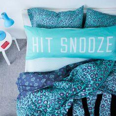 Hit Snooze Pillow #Victoria's Secret Pink
