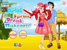 Zadbaj o stylizacją Ariel, która wraz ze swoim chłopakiem spędza czas na tropikalnej wyspie http://www.ubieranki.eu/ubieranki/10039/wiosenne-wakacje-ariel.html
