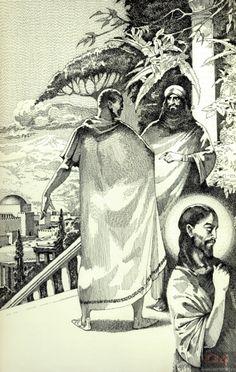 Глава 2. Понтий Пилат. Иллюстрации к «Мастеру и Маргарите» Павла Оринянского.