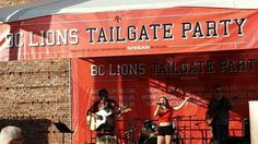 Did you catch @Cambree21 at the BC Lions Tailgate party! We love the flare she added to the song.  #Music #Singer #DarcyDMusicGroup