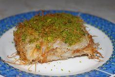 Kadayif tatlisi turkish recipes turkse recepten yemek tarifleri