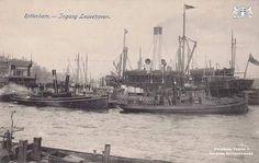Ingang Leuvehaven.