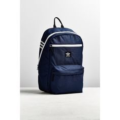 adidas Originals National Backpack (63 CAD) ❤ liked on Polyvore featuring men's fashion, men's bags and men's backpacks