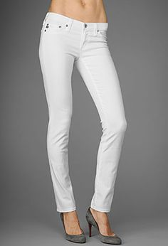 My favorite brand these days AG in the white Premiere Skinny Straight $164 at www.scoutandmollys.com This is a must have for spring and summer!