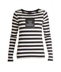Summum 3s3820-3733A shirts Zwart dessin 190000251