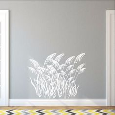 Sea Grass Style B Decal Vinyl Wall Decal 22423