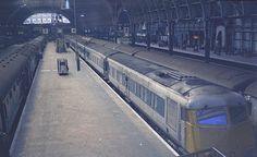 Western Region Diesel Pullman Unit at Paddington . Spring-1973