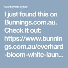 I just found this on Bunnings.com.au. Check it out: https://www.bunnings.com.au/everhard-bloom-white-laundry-unit-with-1-tap-hole-and-right-hand-sink_p4760122