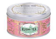 Kusmi Rose Green Tea. Organic green tea with rose.