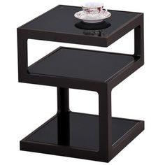 Acme Furniture Alyea Glass/Metal End Table - Free Shipping Today - Overstock.com - 20742926