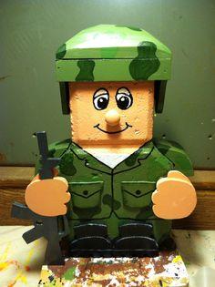 Army By Debra Jasper $25.00 + shipping