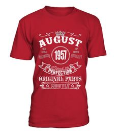 1957 August Aged To Perfection Original