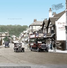 Caterham, The Square 1925, from Francis Frith