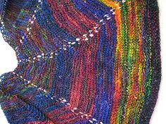 Ravelry: Weaver's Wool Mini Shawl pattern by Peggy Pignato GARTER STITCH
