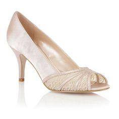Lotus Lotus nude 'Tina' open toe shoes- at Debenhams.ie