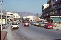 Athens- Glyfada 1977 Glyfada Greece, Greece History, Athens Greece, Old City, Street View, Retro, Random, Pictures, Vintage