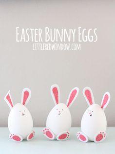 Easter Egg Bunnies
