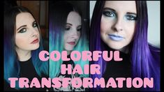 DIY Blue to Ultra Violet Hair Transformation Feat. Arctic Fox Dye