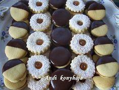 Andi konyhája - Sütemény és ételreceptek képekkel - G-Portál Hungarian Cuisine, Hungarian Recipes, Baking Recipes, Dessert Recipes, Romanian Food, Sauerkraut, Mini Cupcakes, Doughnut, Bakery
