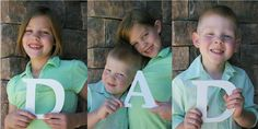 what a clever idea for a father's day gift--no matter how many kids you have!