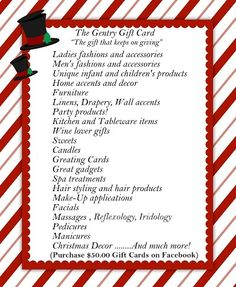 Gift Cards Spa Treatments, Gift Cards, Furniture Decor, Gifts, Gift Vouchers, Presents, Gifs, Gift