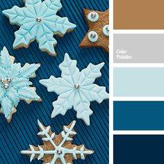 Blue Color Palettes, brown, color palette, dark-blue, deep blue, gray, shades of blue, shades of winter, silver, winter color palette, winter color palette 2016.