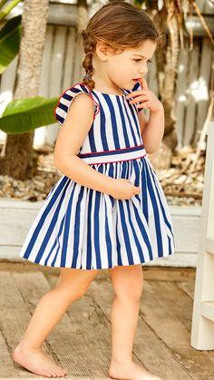 Fashion Kids, Little Girl Fashion, Baby Girl Dresses, Baby Dress, Pretty Korean Girls, Moda Kids, Baby Fashionista, Cute Outfits For Kids, Summer Kids