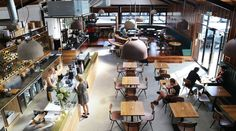 We've discovered your newest brunching destination where great coffee and outstanding food collide. NEW MARKET Melrose st Coffee Branding, Great Coffee, New Market, Places To Eat, Restaurant Bar, New Zealand, Table Settings, Restaurants, Cafes