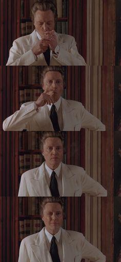 Christopher Walken in The Comfort Of Strangers (1990).  Dir. Paul Schrader