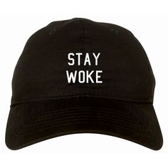 56c40427780 Stay Woke Dad Hat by Fashionisgreat - Pink Khaki White Black Vintage  Baseball Hats