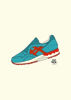 Looplaces x Asics gel lyte v - miami dolphin - rare concepts shots from  ronnie fieg
